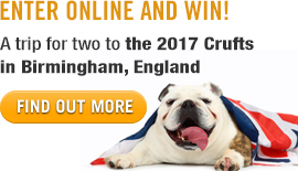 Win a Trip to the 2017 Crufts!