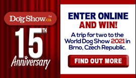 Win a Trip to the World Dog Show 2021!